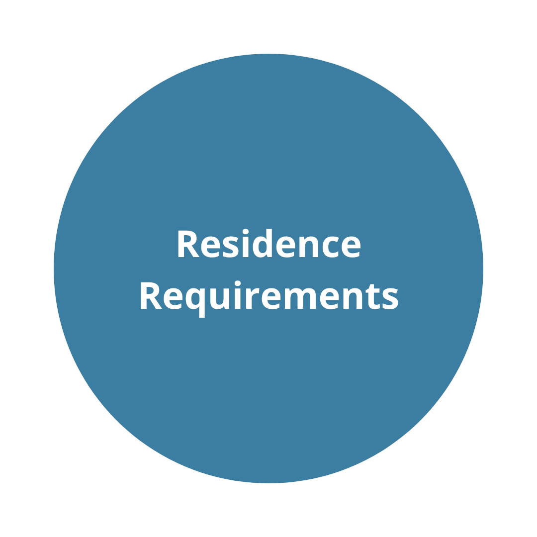 Residence requirements