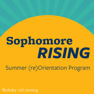 Sophomore Rising graphic with rising sun